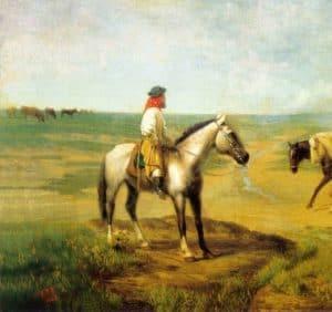 gaucho horse paint