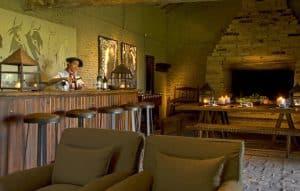 gaucho bar in the estancia