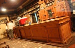 counter of gaucho pampa bar