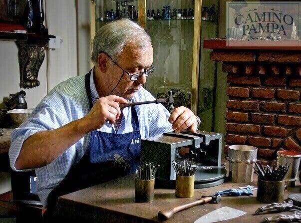 Juan Jose Draghi silversmith