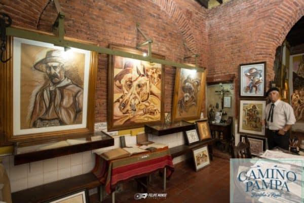 Cultural Tour Gauchos pintor gaucho
