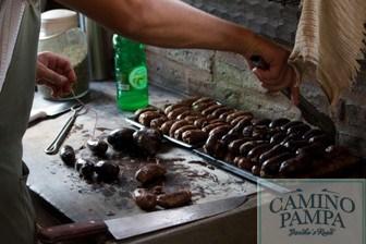 Foodie Tour to San Antonio de Areco Town & Estancia chorizos Estancia