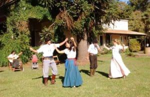baile chacarera en estancia